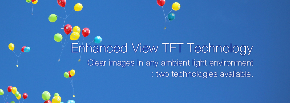 Enhanced View TFT Technology