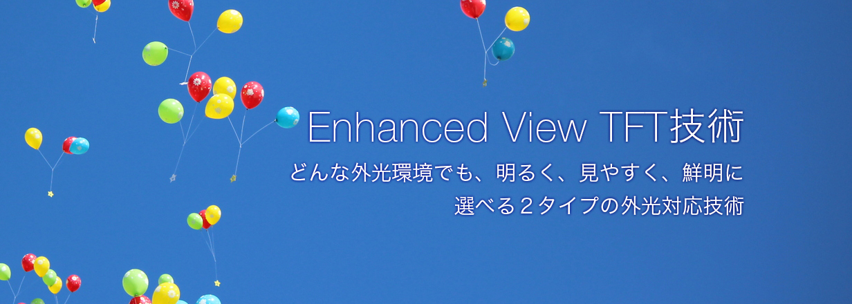 Enhanced View TFT技術
